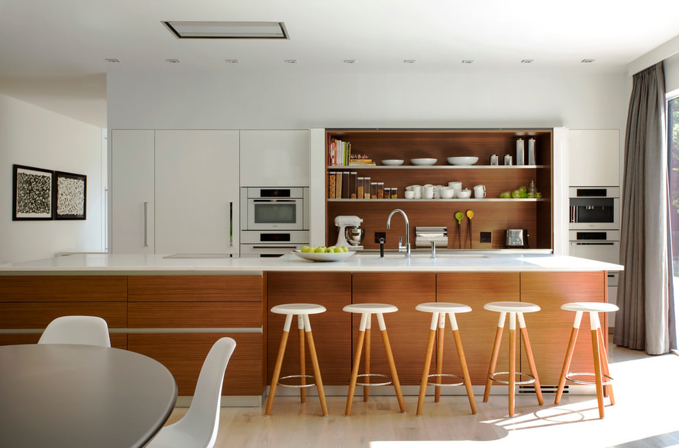 contemporary kitchen designs, decorating ideas  design trends,