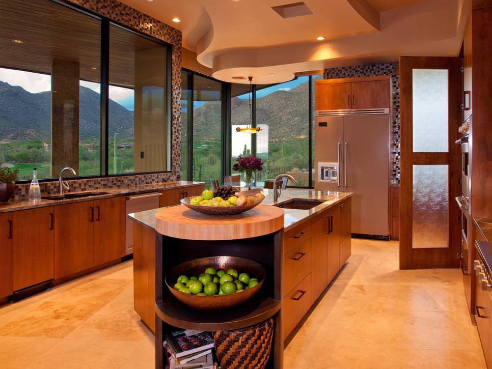 contenporary kitchen island design