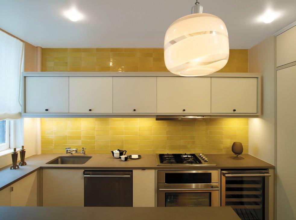 Amazing Yellow Tile Design