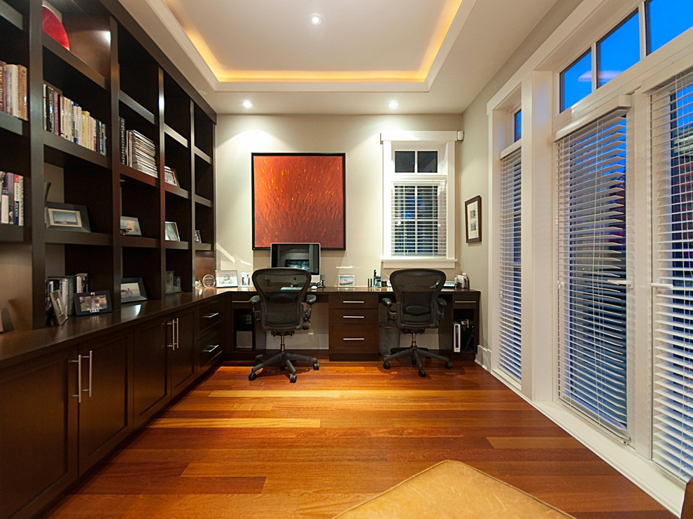 trendy home office design idea