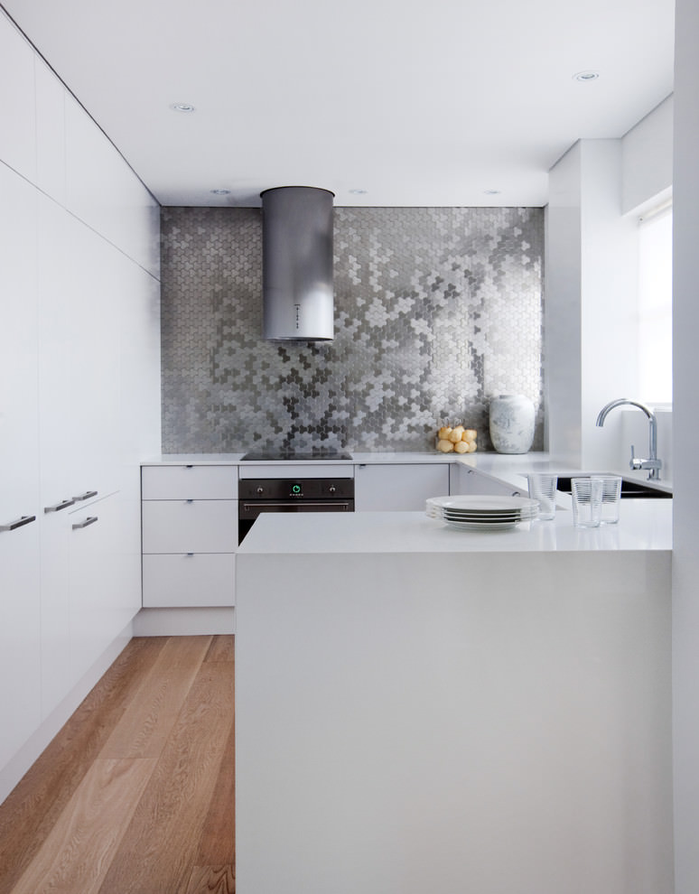 Alloy Metal Kitchen Tile Design