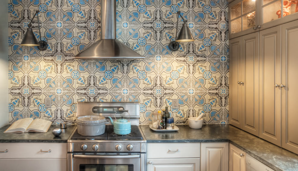 Awesome Pattern Kitchen Tiles