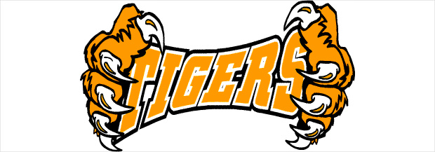 name of tiger clipart