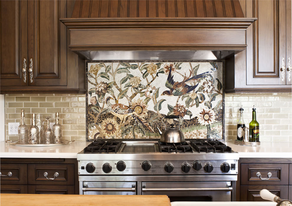 Abstract Kitchen Tile Design