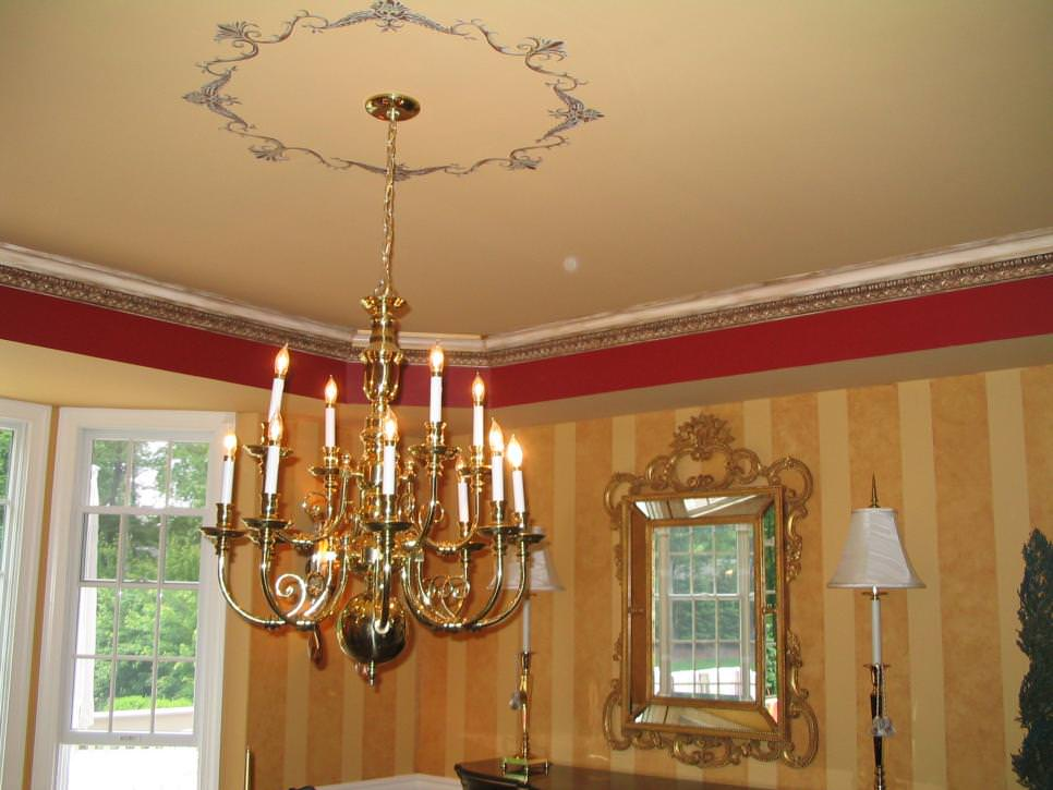 Dining Room Gold Chandelier