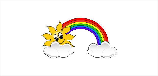 Cute Rainbow Clipart