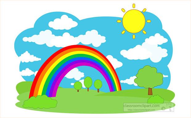 Stunning Rainbow Clipart