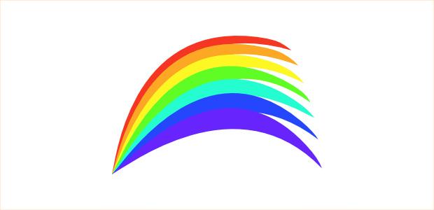 Nice Rainbow Clipart
