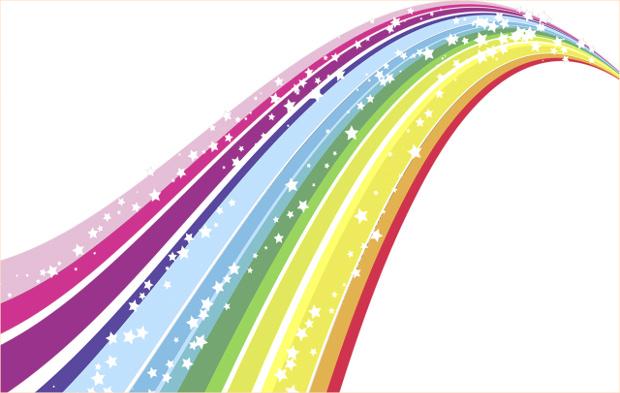 Cool Rainbow Clipart