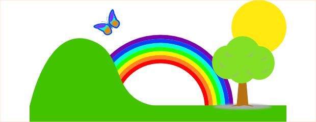 Amazing Rainbow Clipart