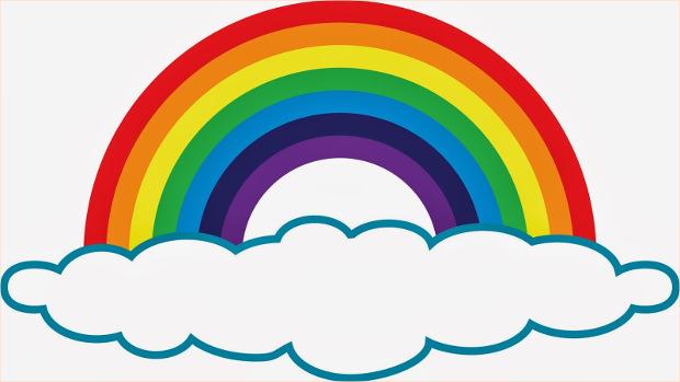 22+ Rainbow Clipart|Cliparts | Design Trends - Premium PSD ...