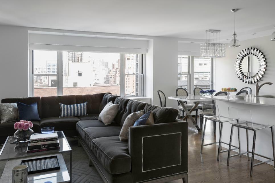 Glamorous Gray Sofa Design