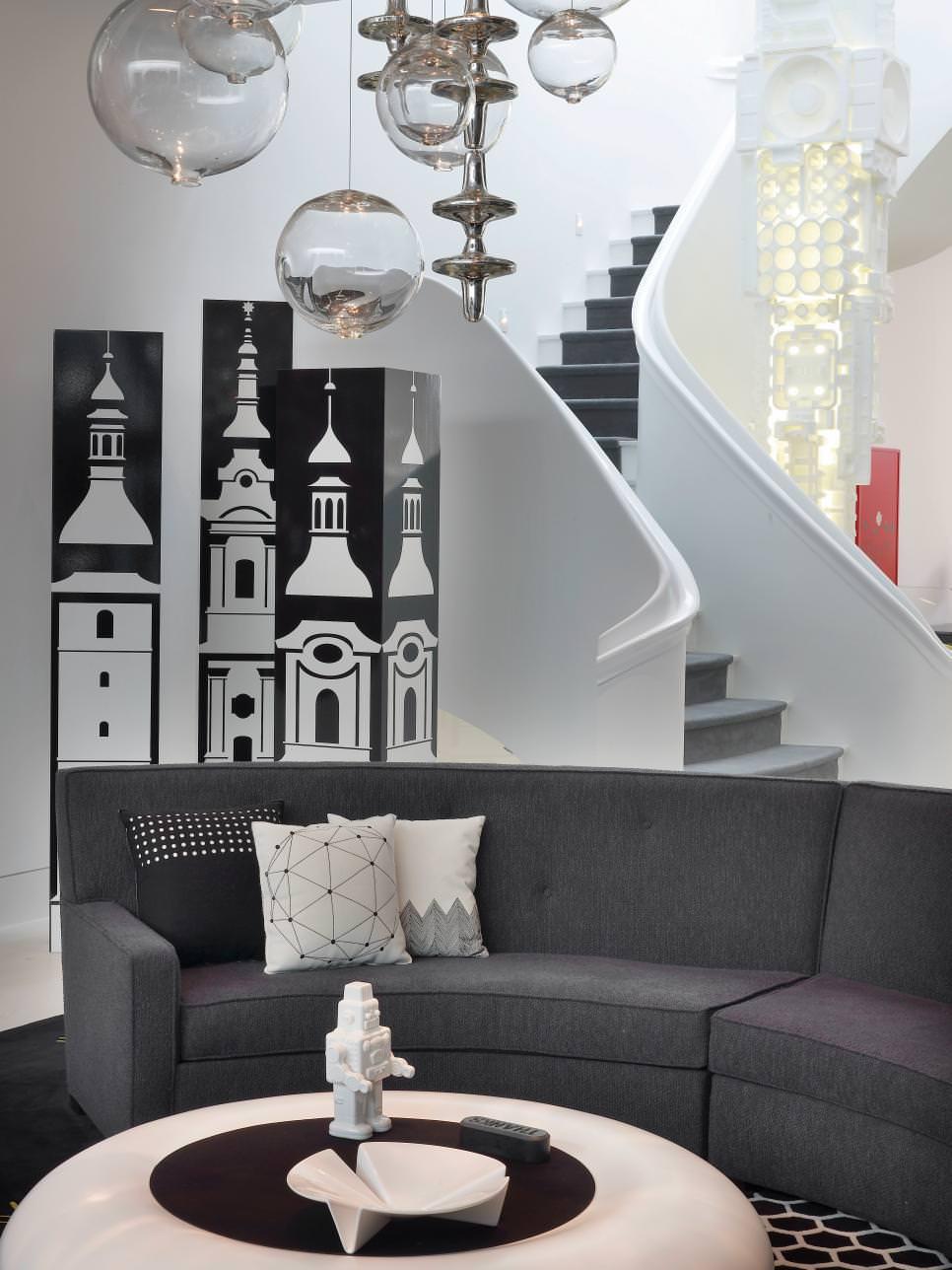 Chic Gray Sofa Design