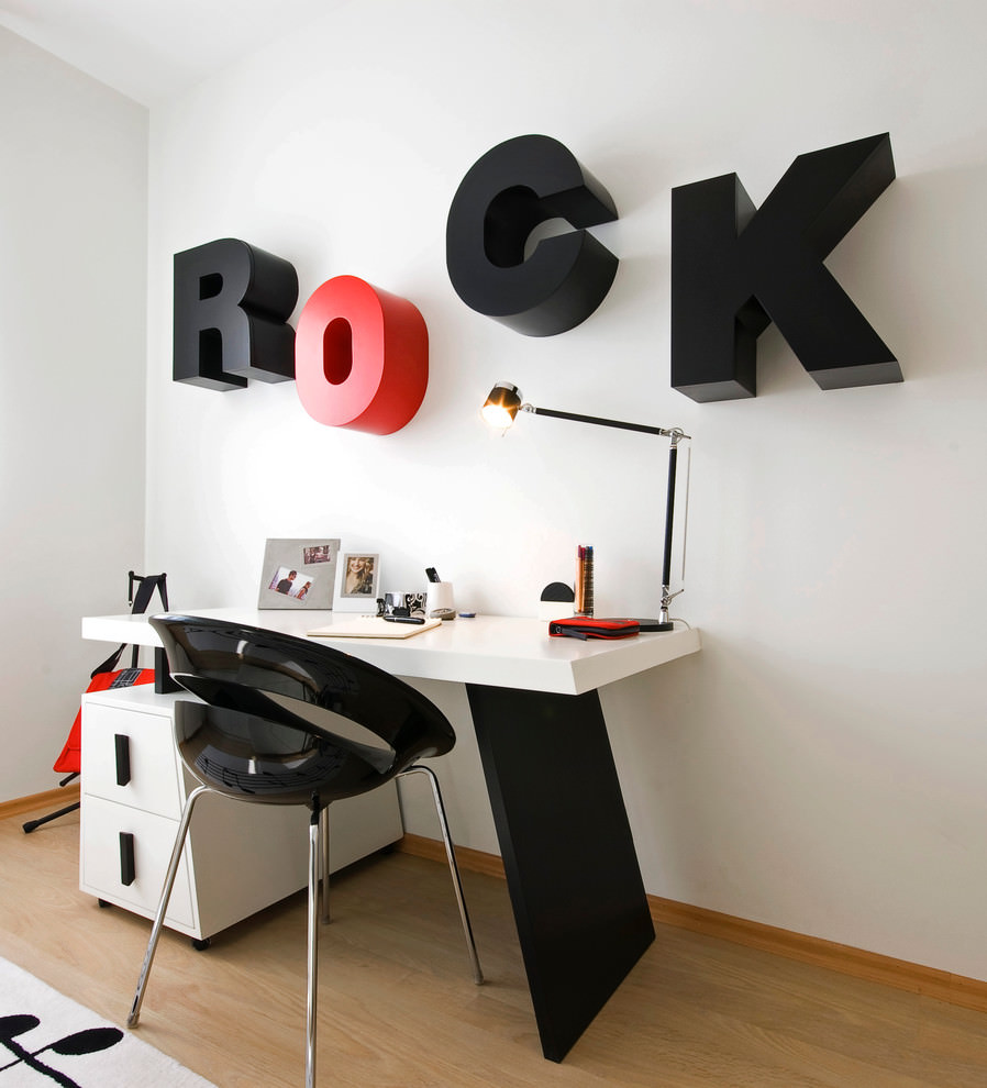 funky kids desk design