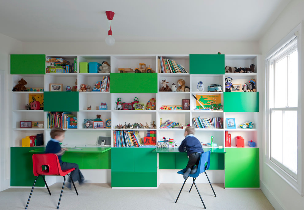 playful kids desk design