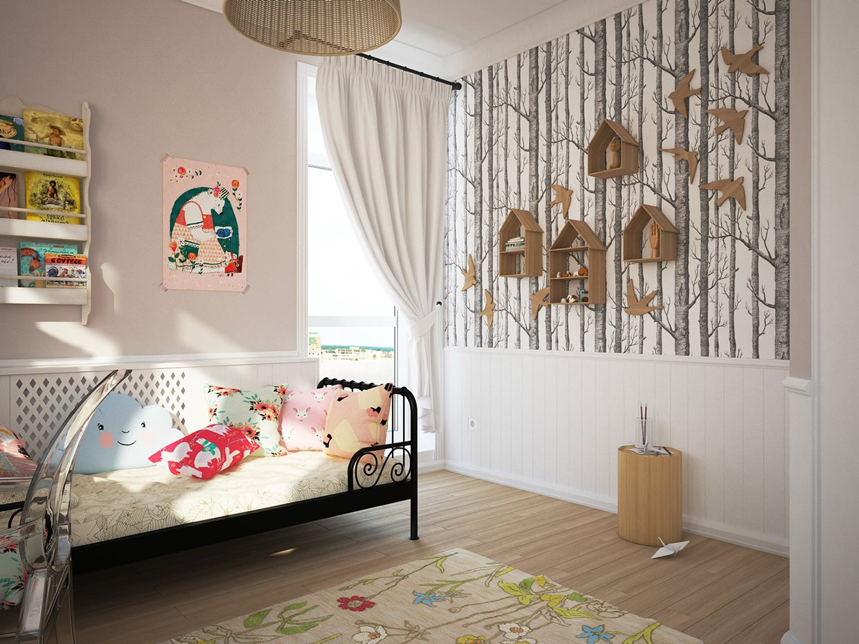 25+ Kid's Room Interior Designs