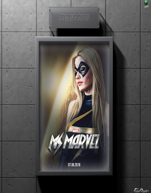 Movie Poster Design Mockup