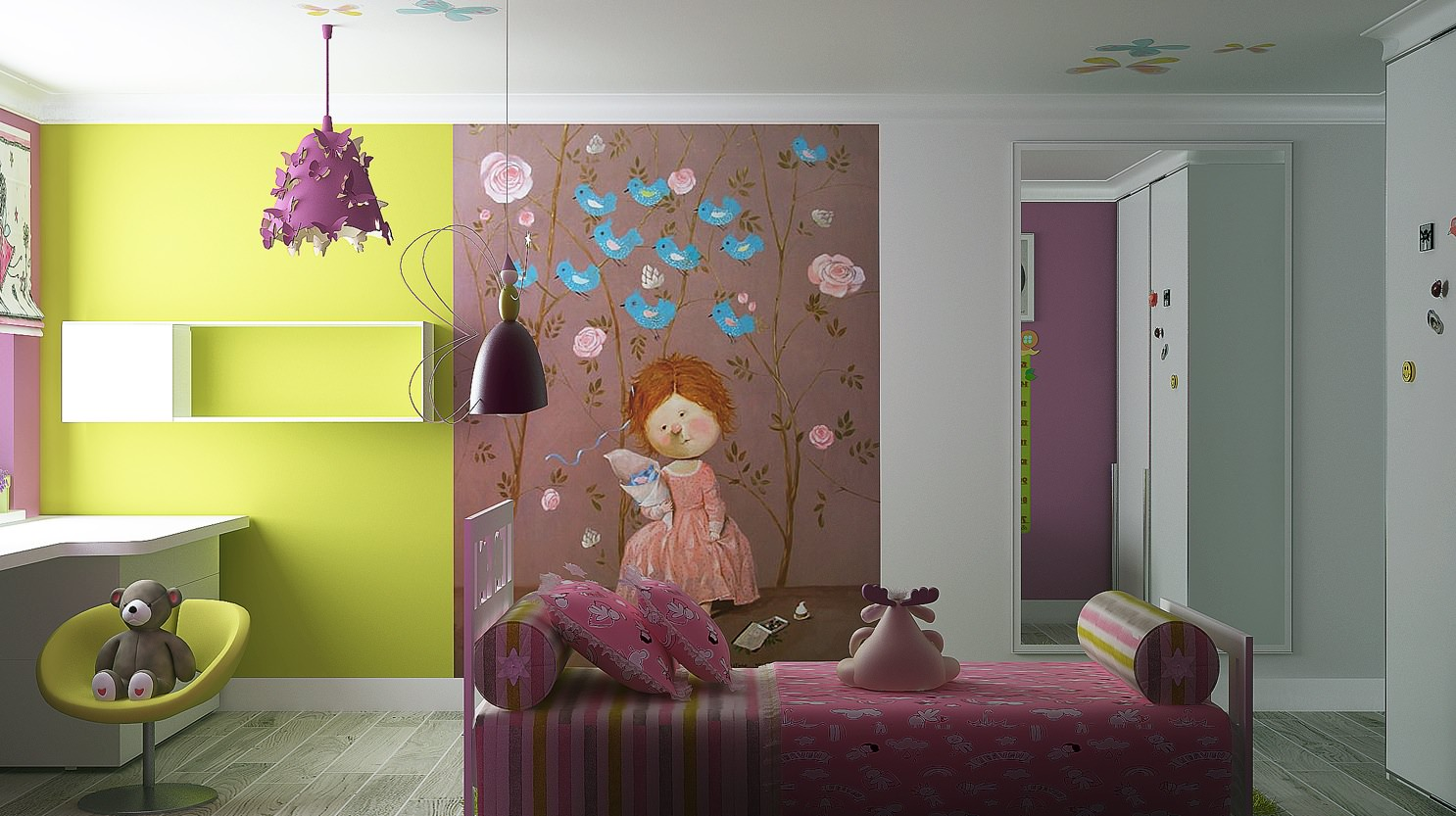 Adorable Kids Room Interior Design