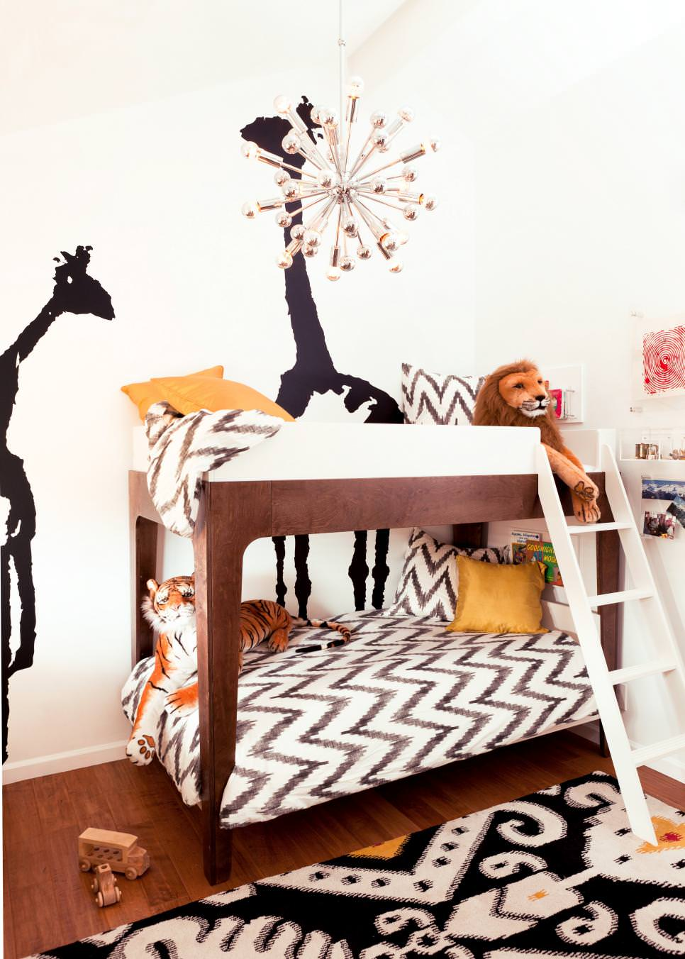 Playful Kids Room Interior Design