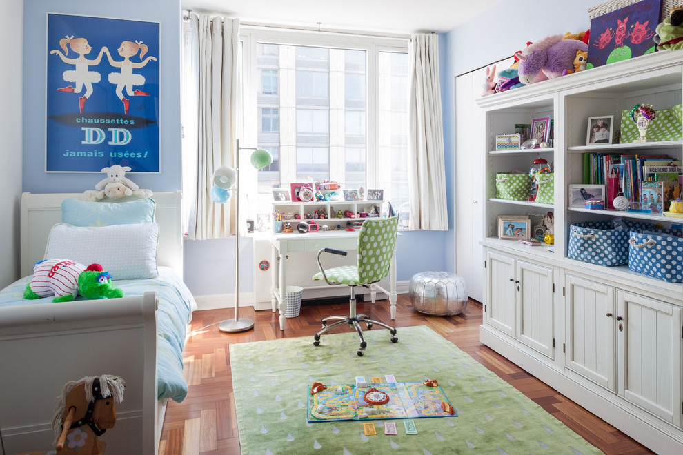 Eclectic Kids Room Interior Design