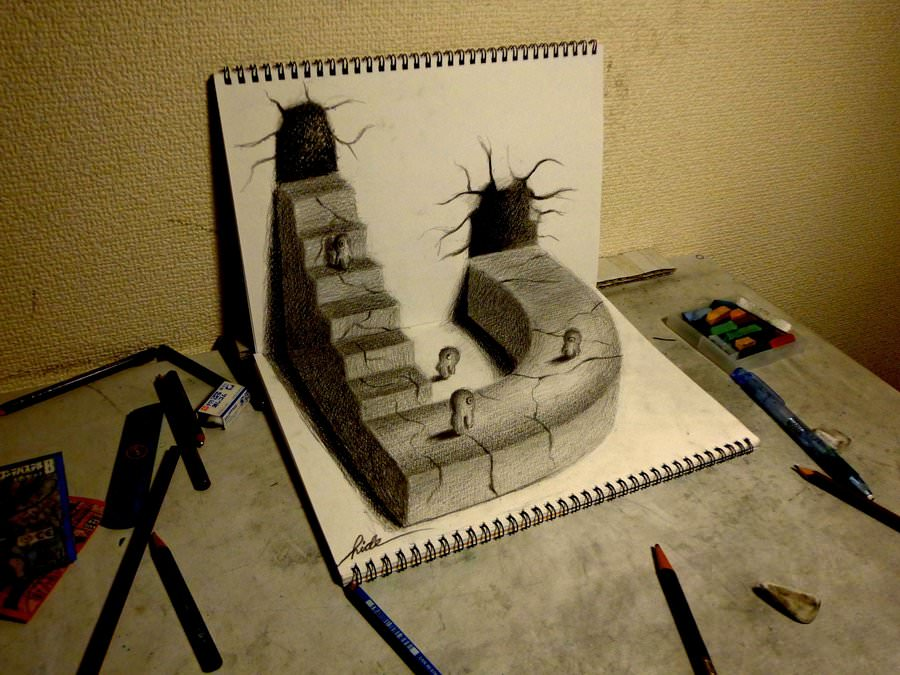 World Best 3D Pencil Drawing