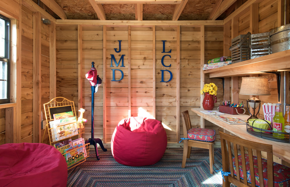 Rustic Kids Room Interior Design