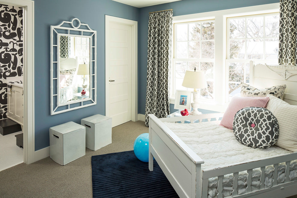 Flat Kids Room Interior Design