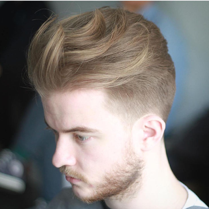 Long Blurry Fade Haircut Idea