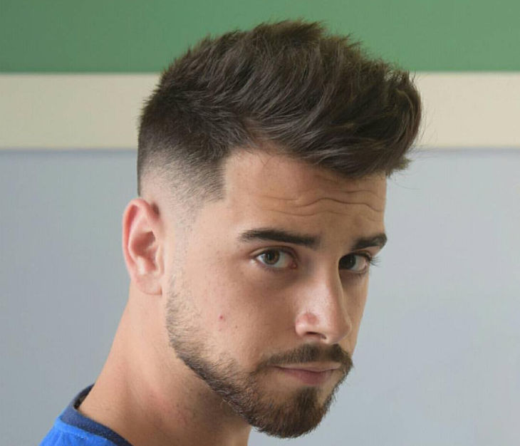 Taper Fade Men Haircut Design