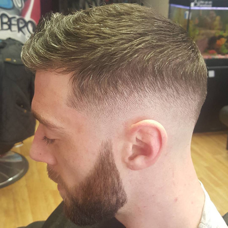 Low Skin Fade Men Haircut Styles