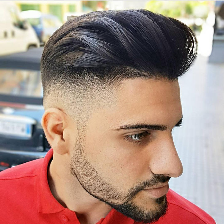 Popular Mid Fade Hairstyle Design