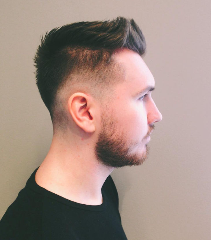 Modern Spike Hair With Fades