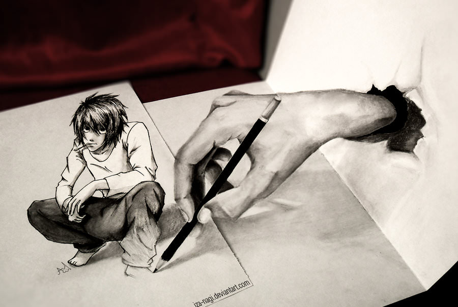 27 3d pencil drawings art ideas design trends