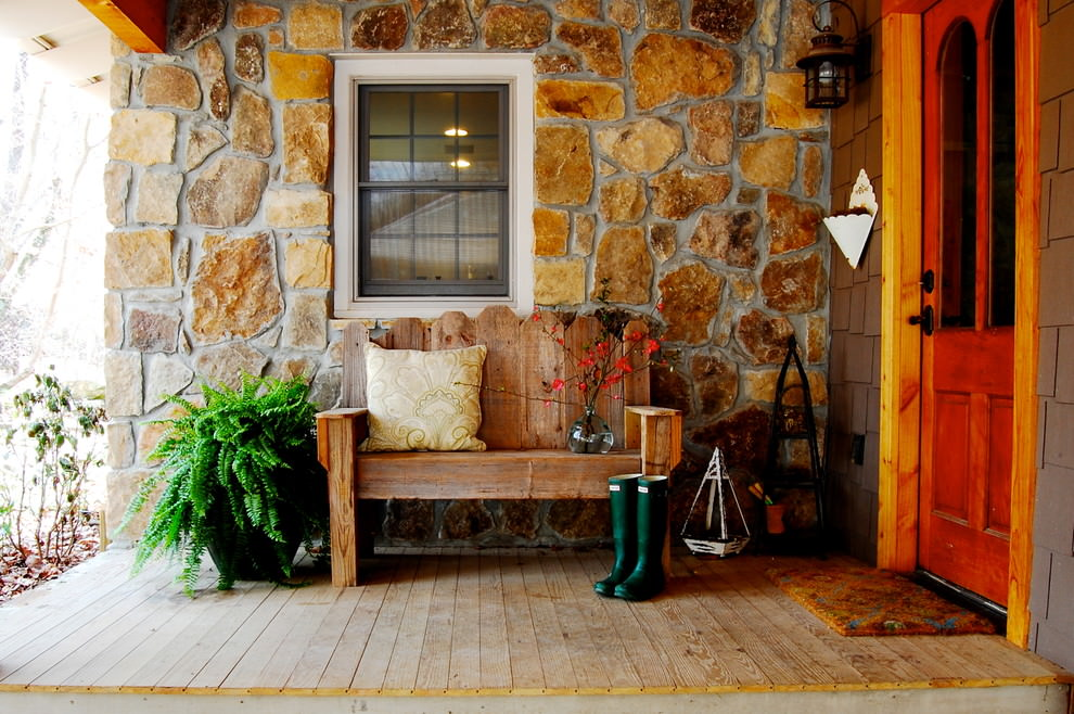 awesome rustic bench design