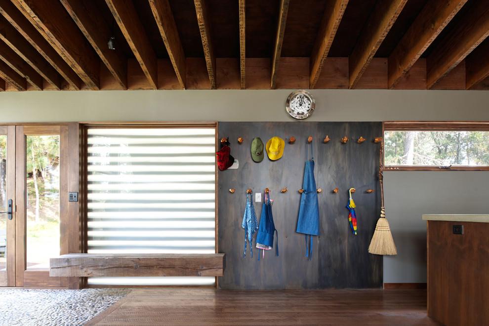 hanging rustic bench design1