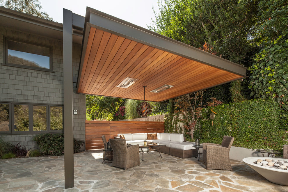 Serene Patio Roof Design