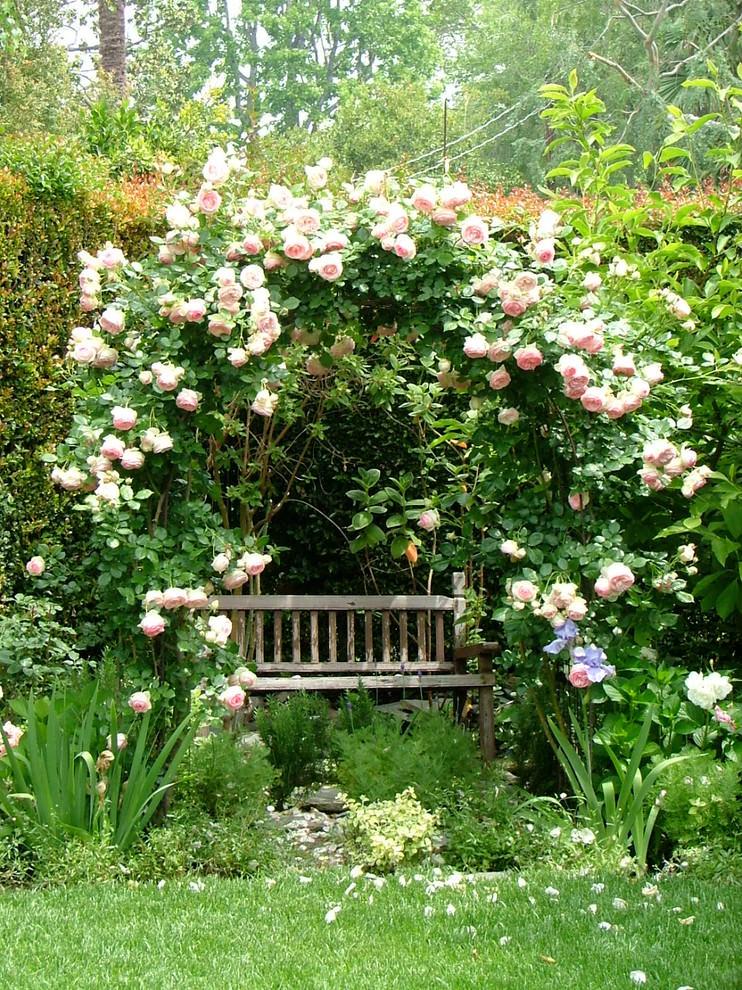 garden rustic bench design2