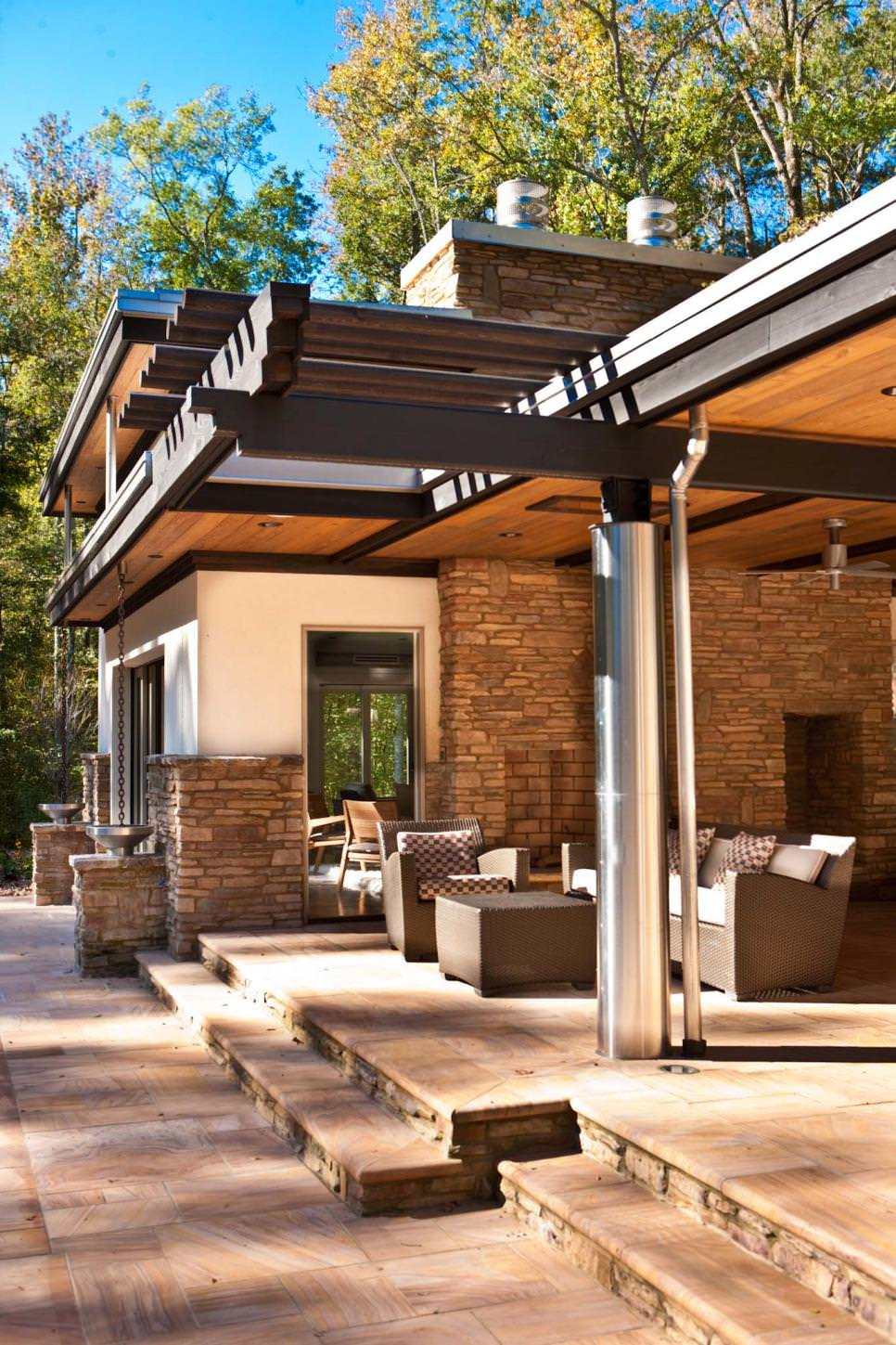 24 Patio Roof Designs Ideas Plans Design Trends Premium Psd