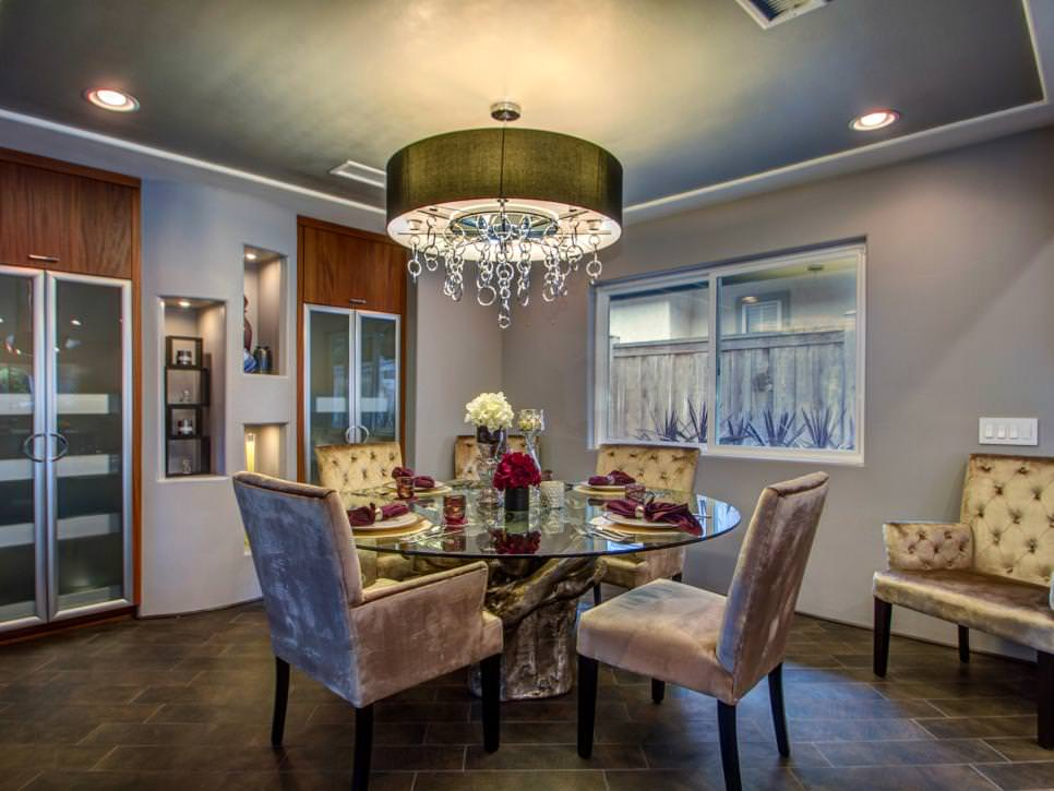 contemporary glamorous chandelier