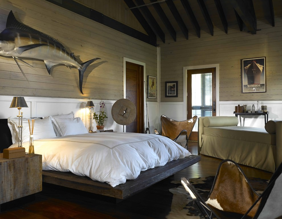 Fancy Rustic Bedroom Interior Design