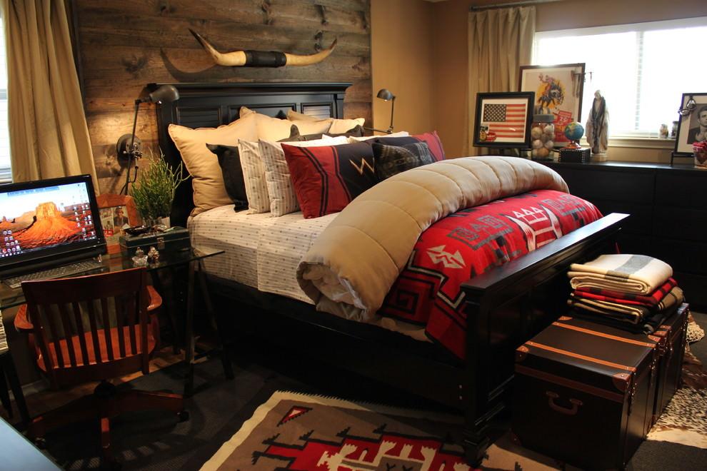 classic rustic bedroom interior design