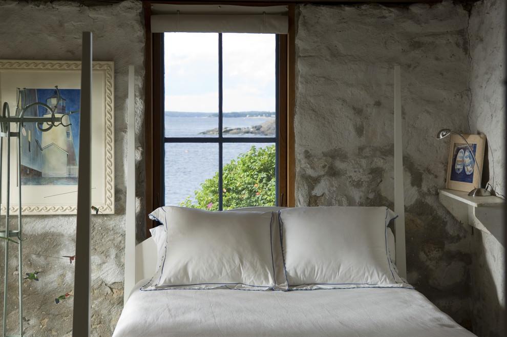 simple rustic bedroom interior design