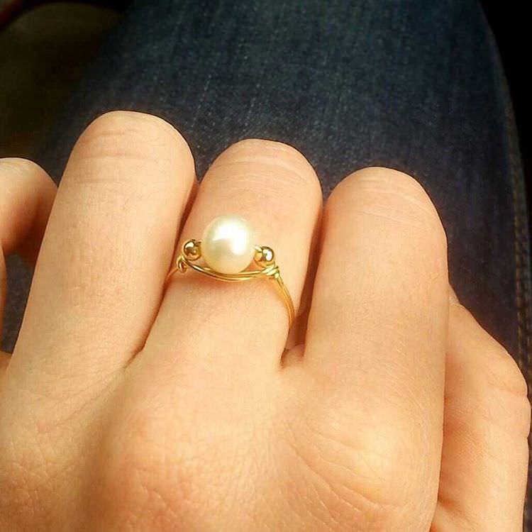 pretty pearl ring2