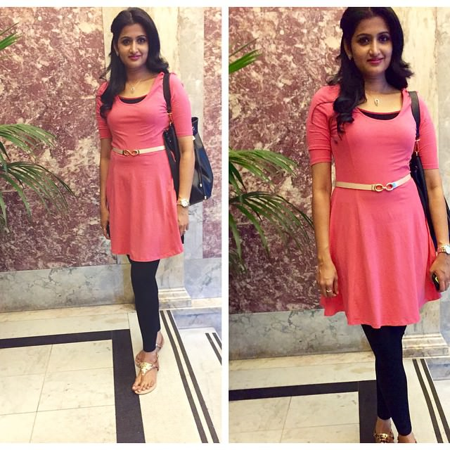 Designer Pink Outfit