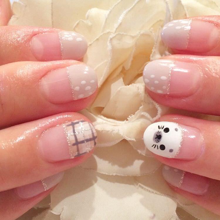 Classy Animal Nail Design