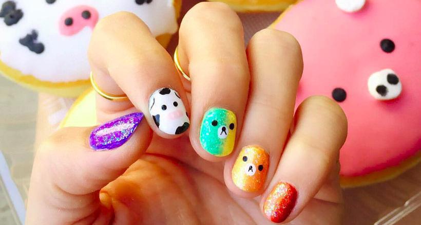Cute Animal Nail Designs - 25+ Animal Nail Art Designs, Ideas Design Trends - Premium PSD