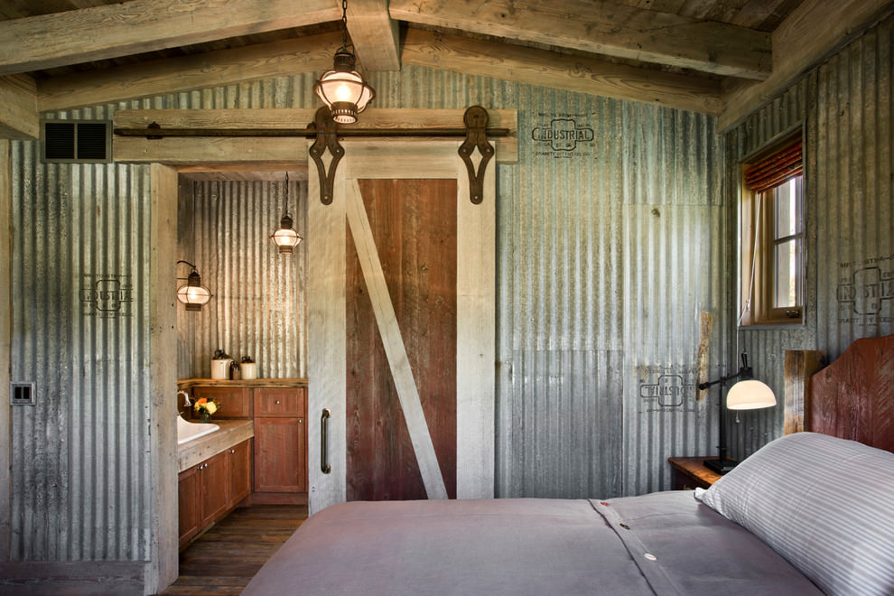 Stunning Rustic Bedroom Interior Design