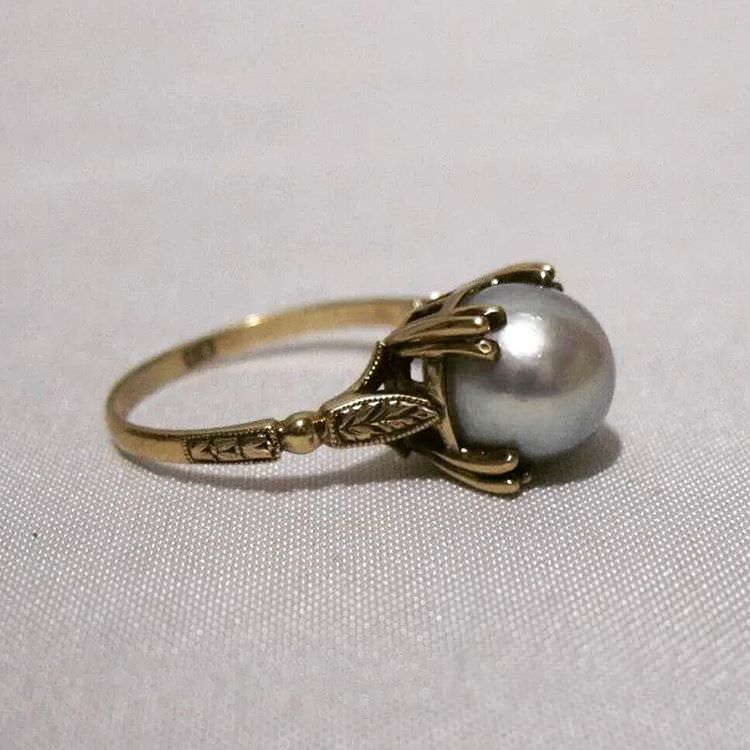 Decorative Prongs Ring