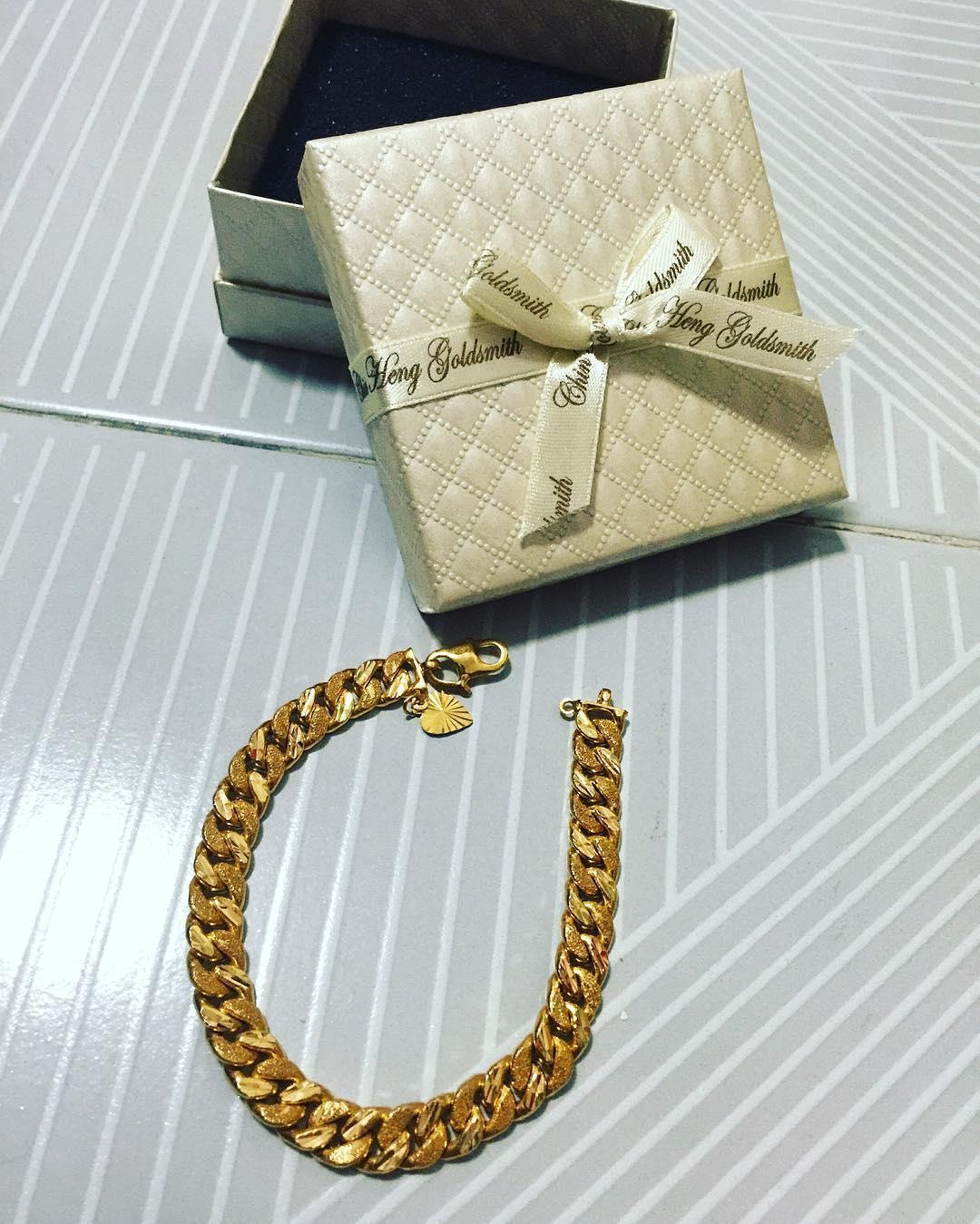 Super Thick Golden Bracelet