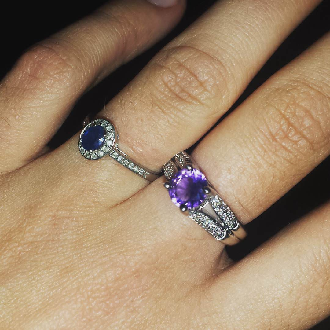 awesome purple ring